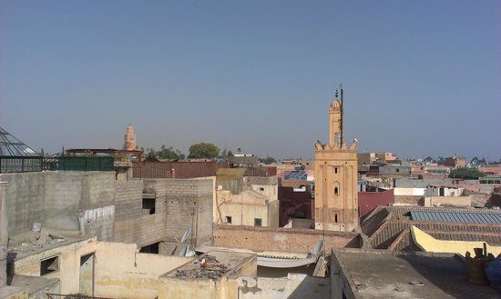 Riad Zinoun : View from rooftop