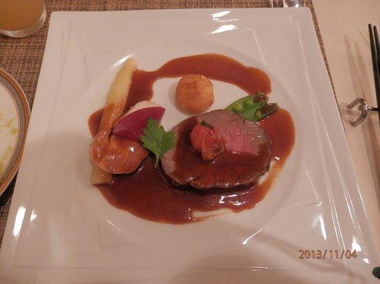 Reflet's Izukogen: 夕食のメインディッシュ