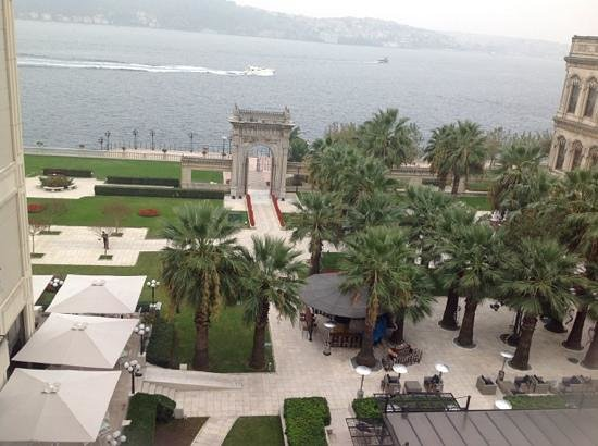 Ciragan Palace Kempinski Istanbul: View from the room 565