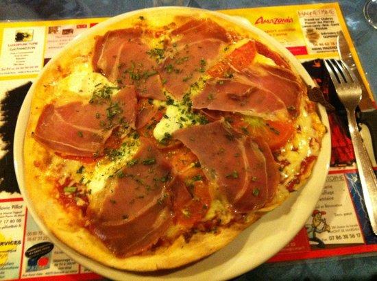 La Primavera : Pizza Parmigiani