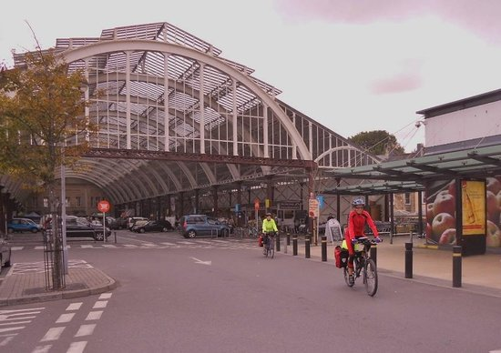 eSpoke cyclevents ltd.: Departing from Green Park station on the Somerset & Dorset Trailway