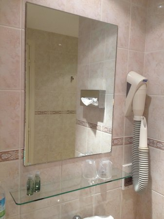 Hôtel Lafayette Nice: Ванная комната