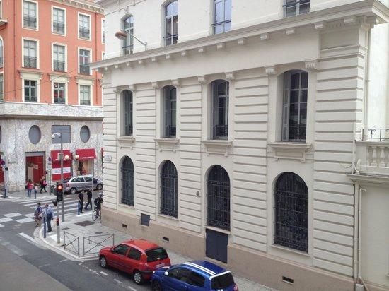 Hôtel Lafayette Nice : Вид из окна