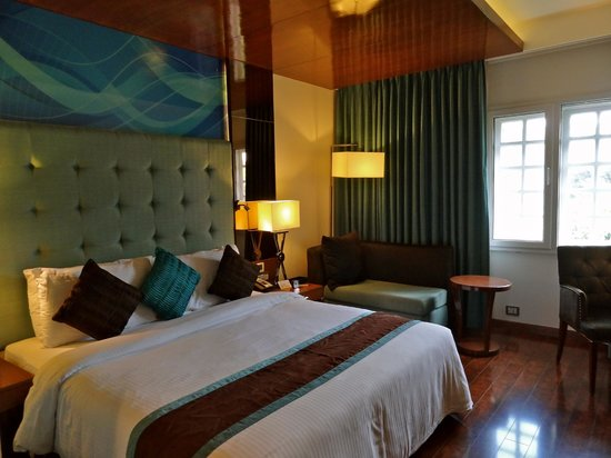 The Elanza Hotel: The standard room at Elanza.