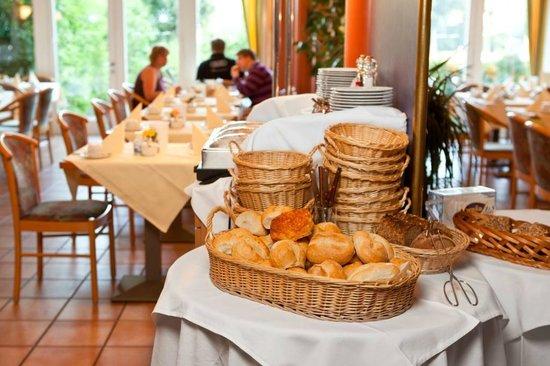 Hotel Spree-idyll: Frühstücksraum