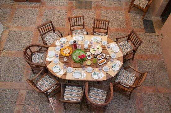 Villa Sa Barcella: Breakfast zone