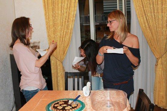 Kosher Bed & Breakfast La Casa di Eva : appena arrivate