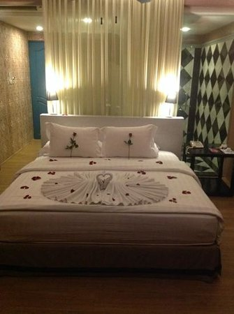 See Sea Phuket: The room when we arrive for our honeymoon