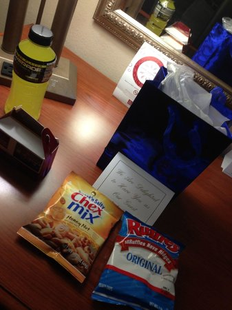 Comfort Suites: Goodies
