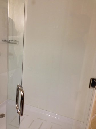 Comfort Suites: Shower area
