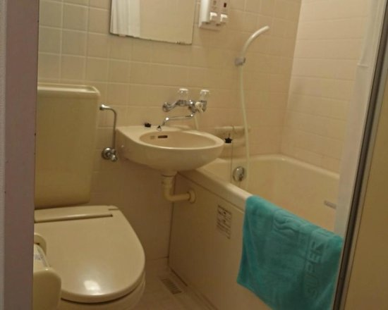 Super Hotel Ishigakijima: バスルーム