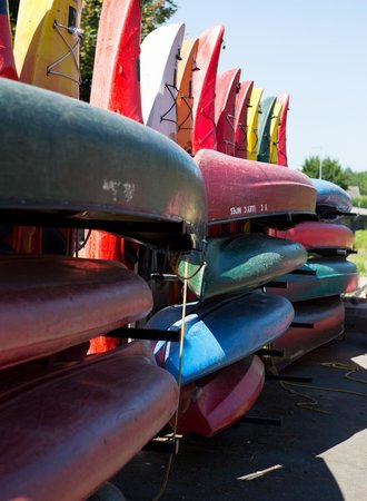 The Boatyard at Wye Valley Canoes
