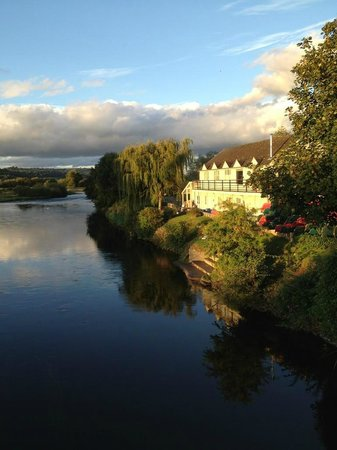 Glasbury-on-Wye, UK: View from Glasbury Bridge