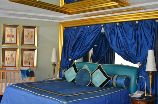 Burj Al Arab Jumeirah : Bedroom