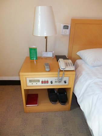 Astoria Hotel : nightstand with controls