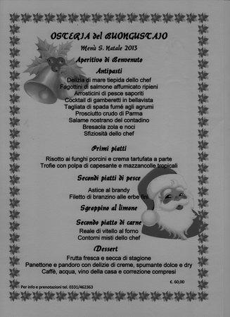 Arconate, Italia: menù di natale2013