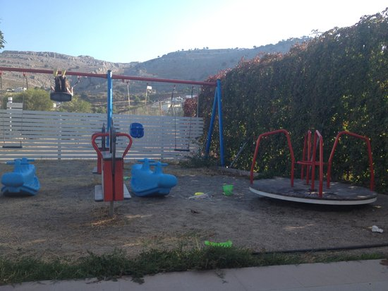 Lindos White Hotel and Suites: playground...
