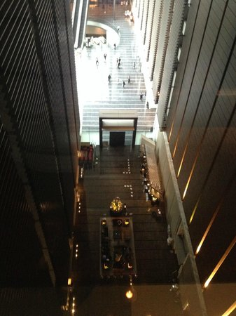 Hotel Villa Fontaine Tokyo-Shiodome : Lobby from above