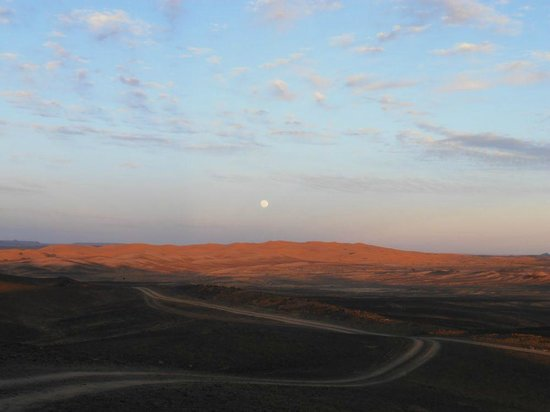 Le Chevalier Solitaire: il deserto