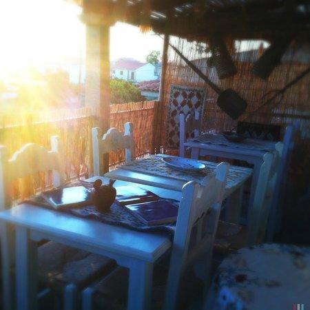 B&B sa reposada: Breakfast Terrace
