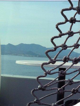 Radisson Blu 1835 Hotel & Thalasso: Vue du la Terrasse du Bar