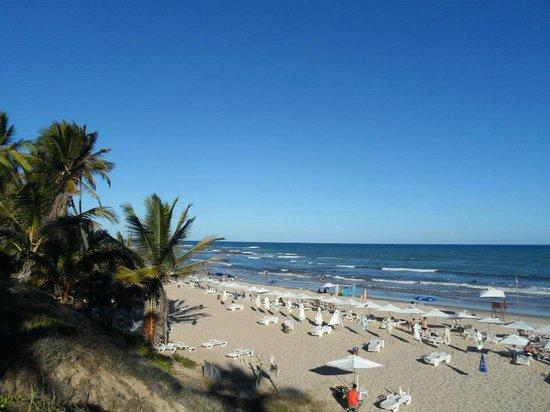 Sauipe Resorts: Vista praia