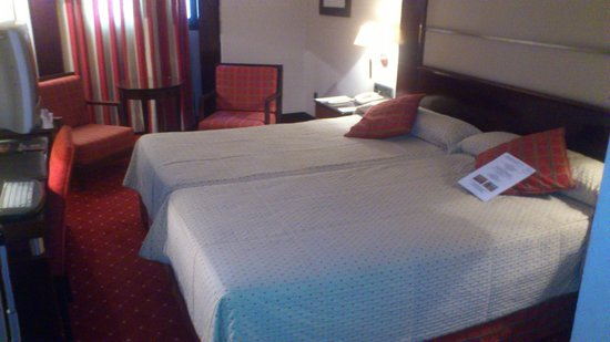 Hotel Sevilla Center: Great standard room