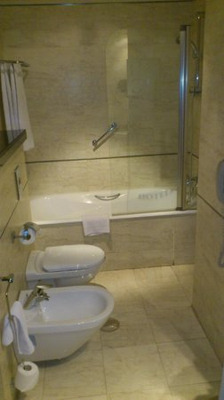 Hotel Sevilla Center: Clean and large enough bathroom