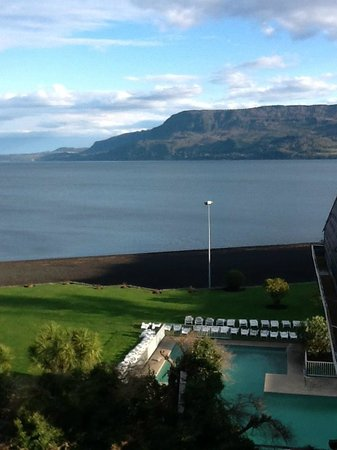 Gran Hotel Pucon: View from our room