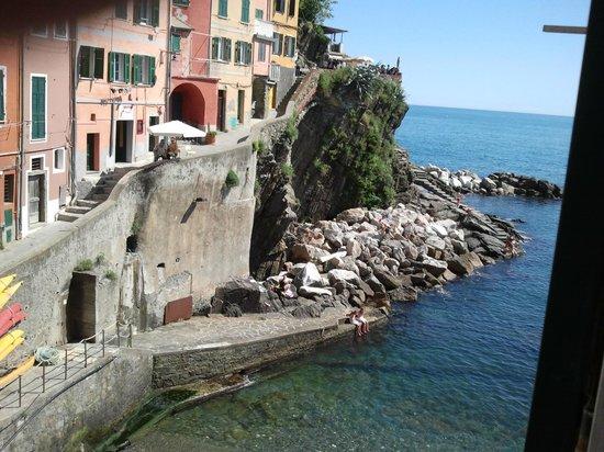Case Vacanze Scorci Di Mare: Вид из окна
