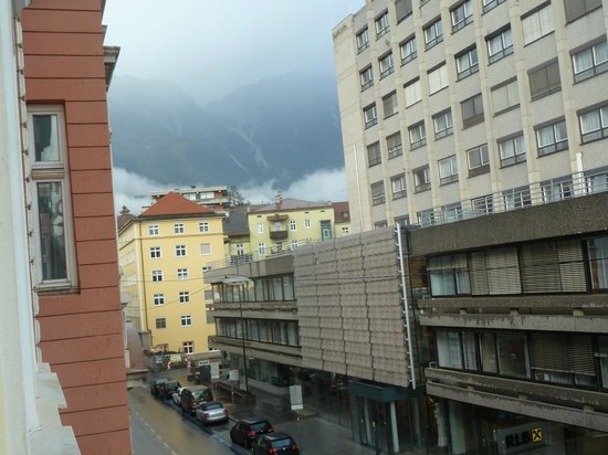 Hotel Sailer: View from my room looking towards the moutains