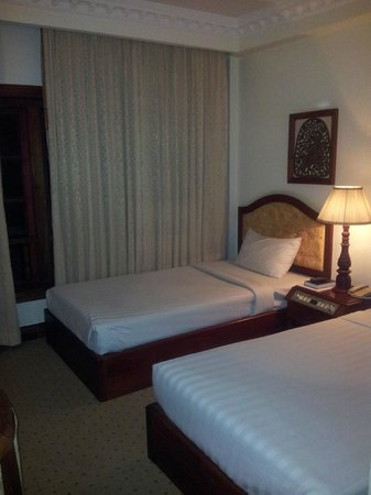 New Angkorland Hotel : Bedroom