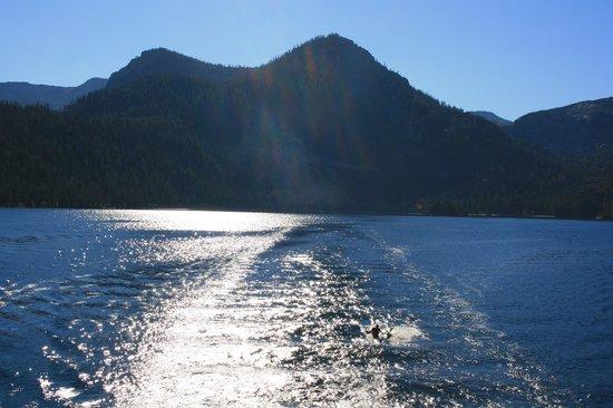 Views from Tahoe Queen
