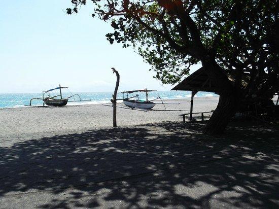 Puri Saron Senggigi Beach Hotel : la plage