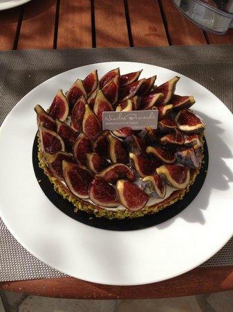 Pâtisserie Nicolas Bernardé : Tarte aux figues