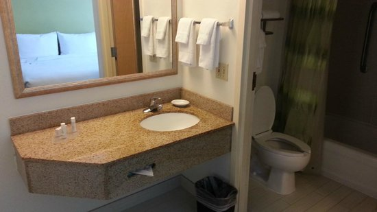 SpringHill Suites Miami Airport South: Bath