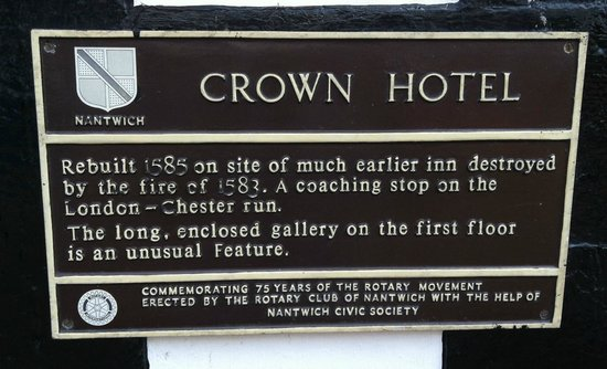 The Crown Hotel: Historic Building