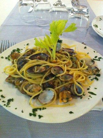 Osteria Benaco: Spaghetti alle vongole