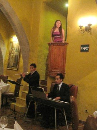 Belmond Hotel Monasterio: We heard opera while dining