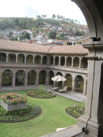 Belmond Hotel Monasterio: you could imagine the monks walking here