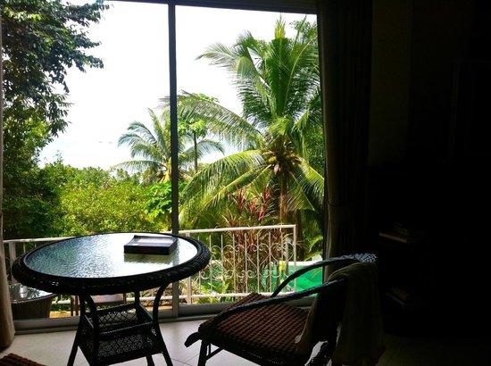 Baan Bon Kao, Koh Phangan : Terrace privative sur piscine