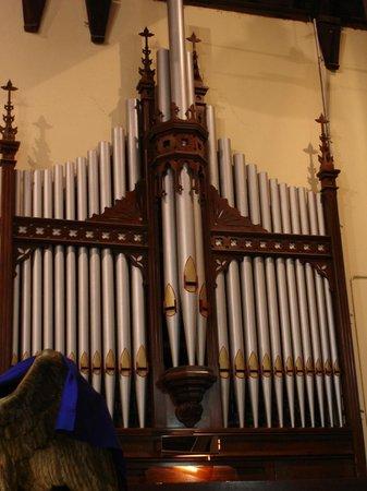 St Matthew's Anglican Church: J E Dodd Pipe Organ in St Matthews church