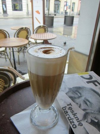 Vincent Cafe: Cafe Latte