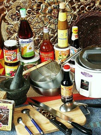 Nuh's Thai Schnellrestaurant: Nuh´s Küchengeräte, eine Auswahl