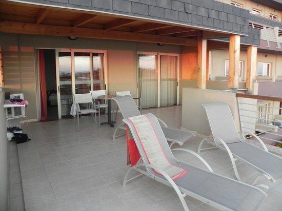 Blue Bay Resort & Spa Hotel: балкон