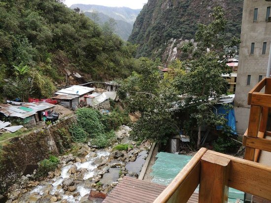 El Mistico  Machupicchu: View from the balcony of our room