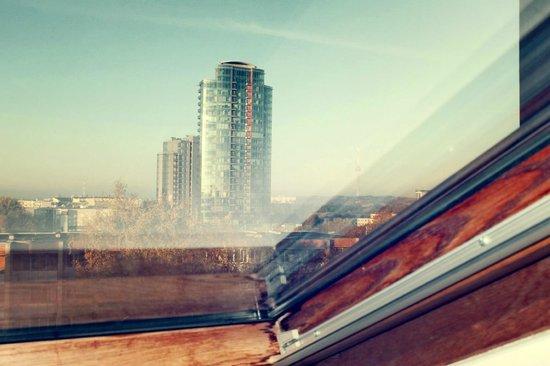 Grata Hotel: вид из окна