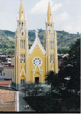 Parte exterior Catedral de Garagoa