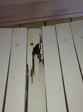 Captiva Island Inn Bed & Breakfast: Broken Chair