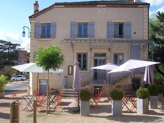 Restaurant Table Chapaize
